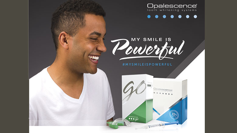 My smile is powerful!  Nouvelle campagne pour le blanchiment des dents Opalescence